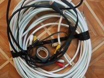 Комплект Триколор тв (ресивер, тарелка, кабели)