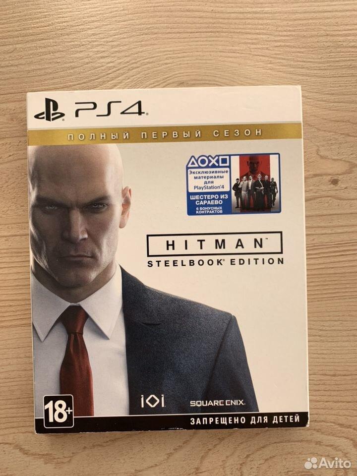 Hitman 1 сезон Steelbook Edition