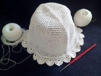 Летняя шапочка ручной работы