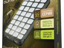 Внешний аккумулятор Qumo PowerAid Tourist Solar 80