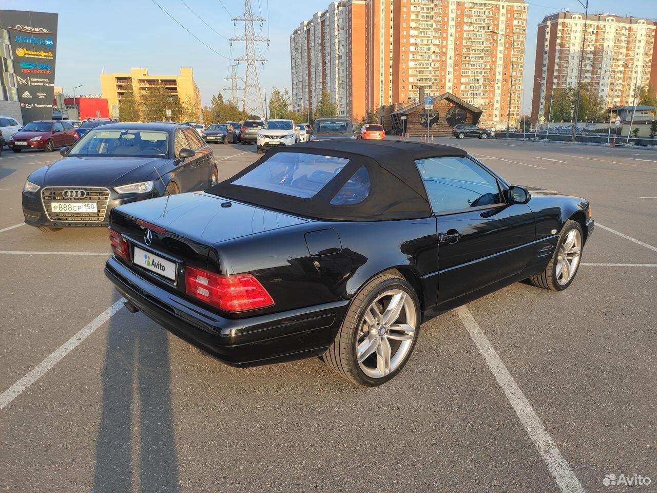 Mercedes-Benz SL-класс, 1999  89584676002 купить 4