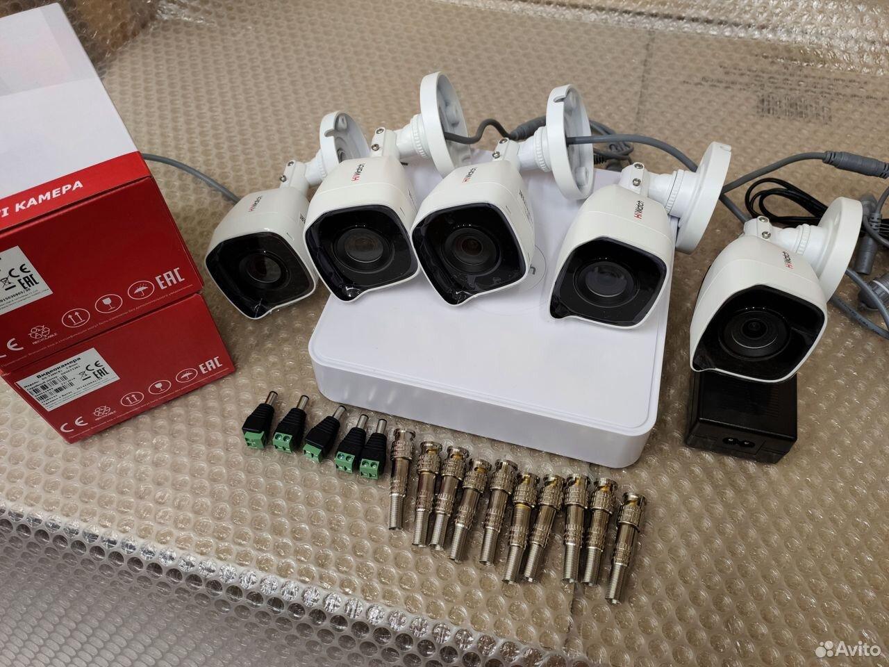 Комплект видеонаблюдения 7 камер HiWatch