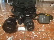 Nikon D5200+ 2 объектива +сумка